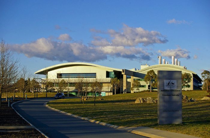 Geoscience Building (Canberra) & Red Cross Head Office Building (Sydney)