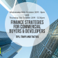 Finance Strategies for Commercial Buyers & Developers – Tips, Traps and Tactics